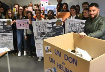 Lancement de la campagne des élèves
